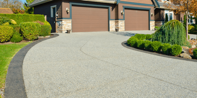 Landscaping and driveway contracting services