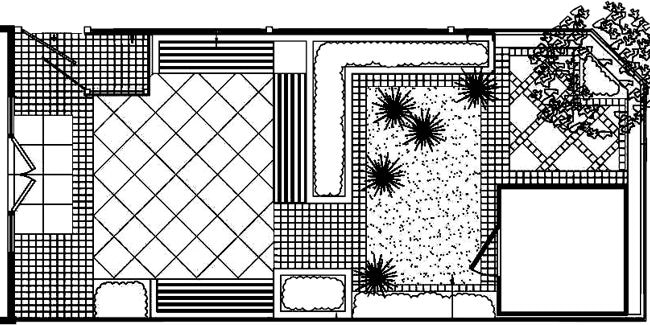 An example landscape design concept plan